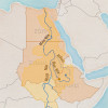 Thumbnail Image - Blue Nile Countries on a Map (Egypt, Sudan, Ethiopia)